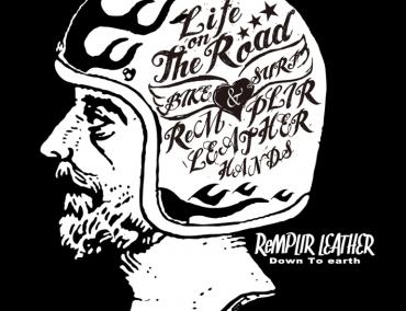 図案作成 | ランプレLOTRオリジナルTシャツ3:ReMPLIR LEATHER