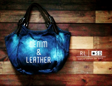 RL SUN DENIM COLLECTION: ReMPLIR LEATHER(ランプリール・レザー)