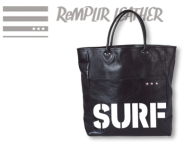 Surfers Paradise ハンドステンシルトートバッグ #RXX(アール・ダブルエックス)-B001・SURFステンシルモデル