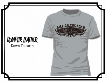 RL LIFE OF THE ROAD  Tshirt #RLLOTR-T002-GRAY