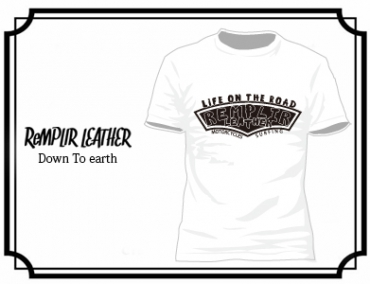 RL LIFE OF THE ROAD Tshirt #RLLOTR-T002-WHITE