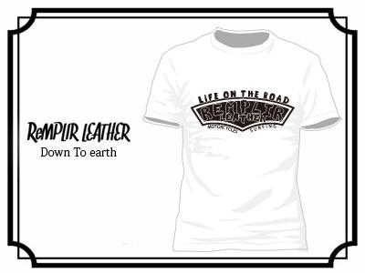 RL LIFE OF THE ROAD Tshirt #RLLOTR-T002-WHITE