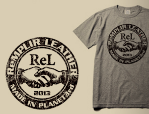 『ReMPLIR LEATHER(ランプリール・レザー)STAFF Tシャツを作る。: ReMPLIR LEATHER