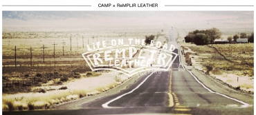 ReMPLIR LEATHER × CAMP CLUB FIELD REPORT(ランプレ×キャンプ倶楽部 フィードル・レポート)